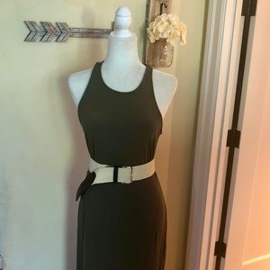 A New Day Sleeveless Ribbed Knit Maxi Dress NWT